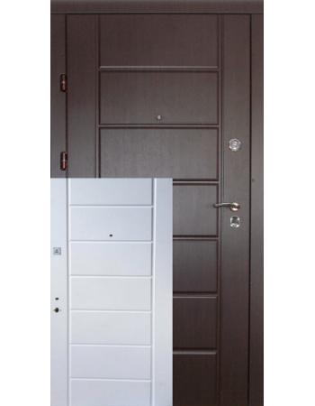 Двері Канзас Квартира два кольори