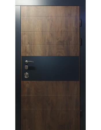 Входная дверь Redfort серия Элит модель Комби с замком Mottura