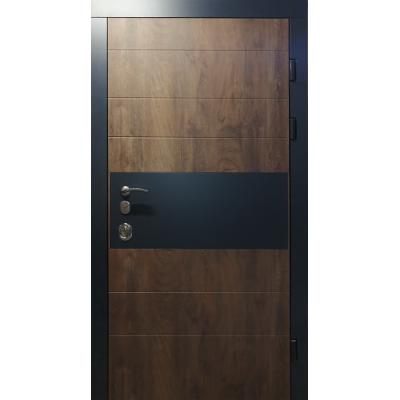 Вхідні двері Redfort серія Еліт модель Комбі з замком Mottura