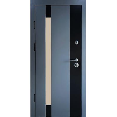 Двері Redfort Марсель зі склопакетом серія Композит (вулиця)