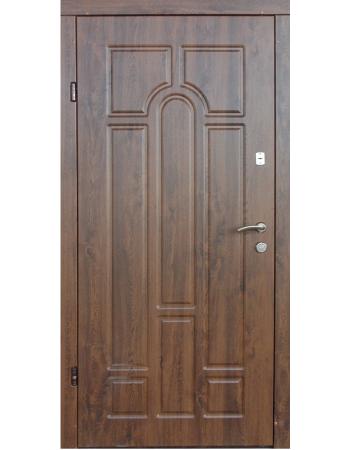 Двери Арка улица с притвором (Redfort) оптима плюс