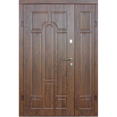 Двери полуторные Арка улица с притвором (Redfort)
