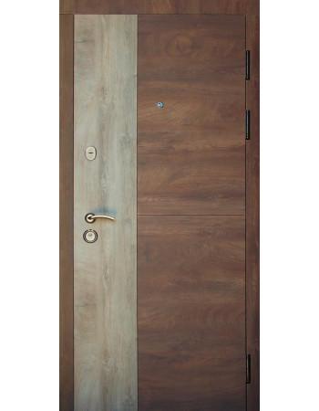 Двері Redfort Соната Комфорт (гнутий профіль) 3 контури