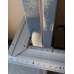 Дверь Техническая Серая металл/металл (Улица)