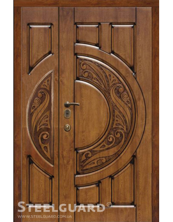 Двері полуторні Steelguard MERCURY BIG