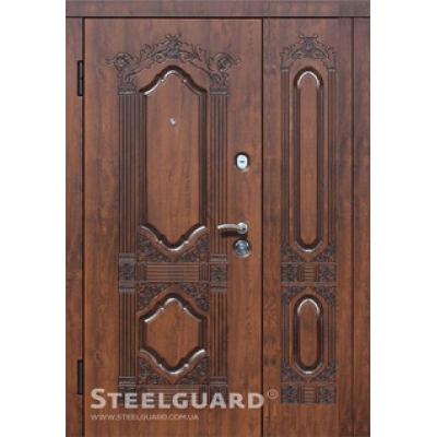 Двери Стилгард Sangria big (полуторные)