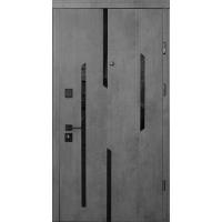 Двери Страж Mirage c чёрной фурнитурой