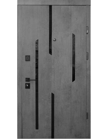 Двері Страж Mirage з чорною фурнітурою