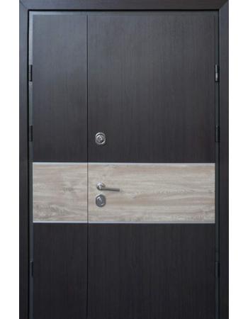 Двери Страж Пруф Party C 1200 венге темный / дуб санома