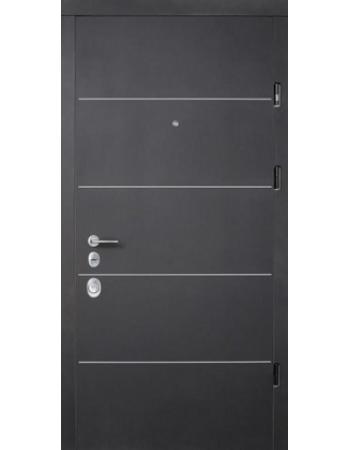 Входные двери Страж Соло (Prestig) Софт Блэк/Софт Милк