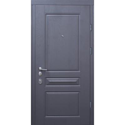 Двери Страж Рубин (Prestig) Дуб графит Арт / Софт Айс