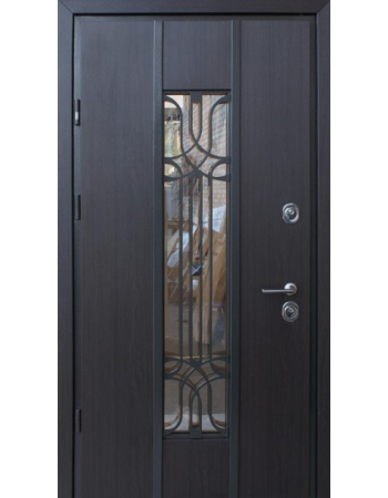 Двери Страж Proof Freedom бетон темный / бетон серый