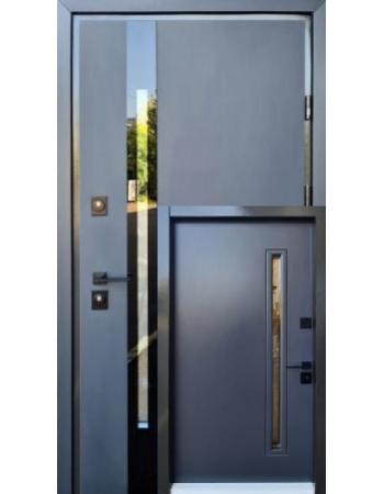Двери Страж Proof Slim Z антрацит