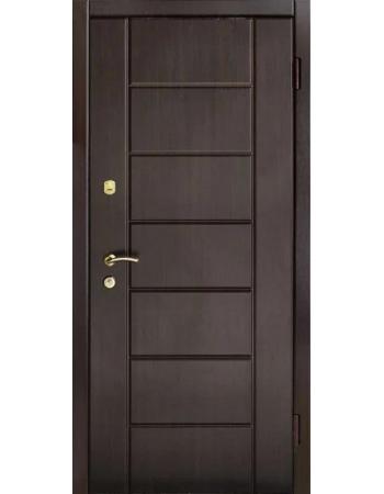Двері вхідні Tроя Т 15 венге темний