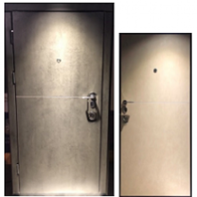 Двери Very dveri серия Элит Горизонт тёмно/бежевый бетон