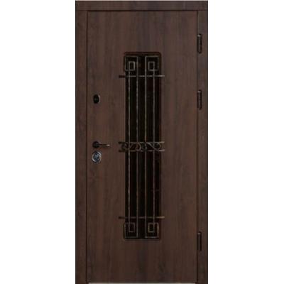 Входные двери Готика с ковкой улица (серия VIP+)