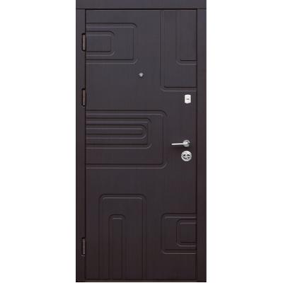 Двери входные Very Dveri Лабиринт серия Лайт венге южное