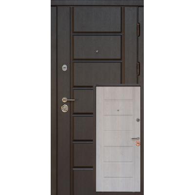 Вхідні двері Very Dveri Канзас VIP + венге південне / сосна прованс